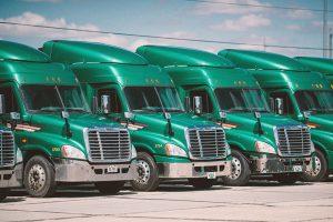 Custom Green Fleet Wrap Services in Greensboro, NC