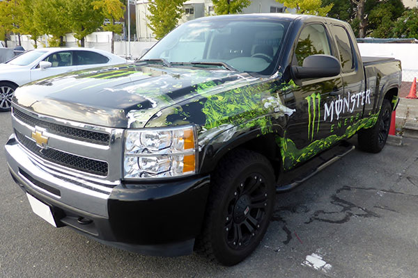 Get a Custom Van Wrap Service and Give a new Monster Look to your Van